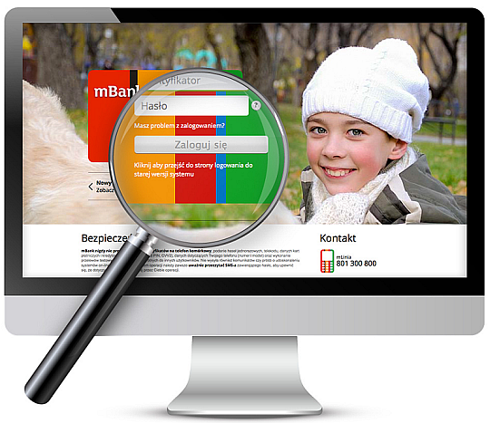 logowanie - mBank