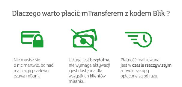 a900a6579a00c3 ... wyboru: standardowa płatność mTransferem lub płatność mTransferem  potwierdzona kodem Blik.Nie musisz wypełniać formularzy, podawać numeru  konta i adresu ...