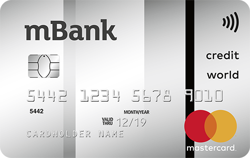 Karta World.Karta Kredytowa World Mastercard Mbank Pl
